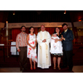 Shannon and her Parents, Godparents, and Priest